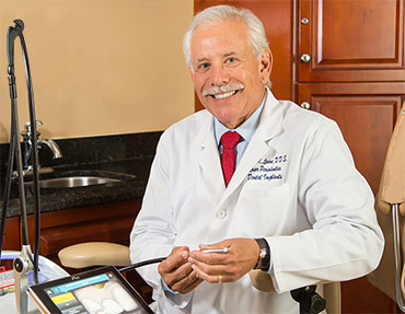 Dr. Levine with Laser